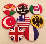 Axis & Allies 1914 WW1 Roundels