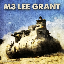 M3 Lee/Grant Medium Tank (3d Printed) x5