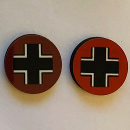 HBG Germany Roundel (too dark) (10/Set) (Discontinued)
