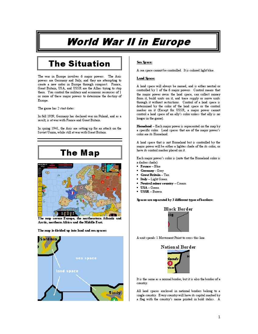 WWII in Europe (Download)