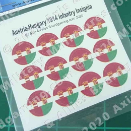 1914 Austria-Hungary Empire Roundel Decal (12)
