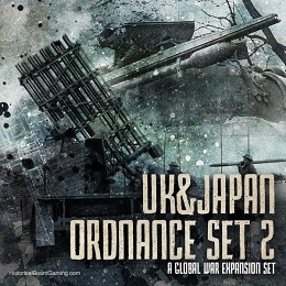 U.K. & Japan Ordnance Set #2 -1936 Expansion Set