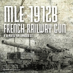 WW1 French mle 1912 Railroad Gun (3d Printed) x1