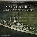 Battleship: Baden 3D Printed (x ONE)