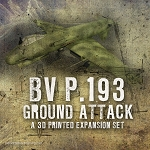 BV P.193 Ground Attack (3d Printed) x One