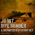 Ju-187 Dive Bomber 3d Printed Set