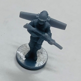 WW II German Raktenjaeger Soldier (3d Printed) x5
