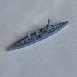 Courbet Battleship - 3D Printed (x ONE)