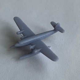 CANT Z.511 No stand Aircraft - 3D Printed (x ONE)