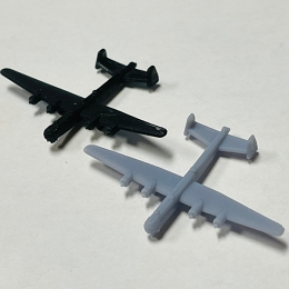 He-277 Heavy Bomber (3d Printed) x ONE