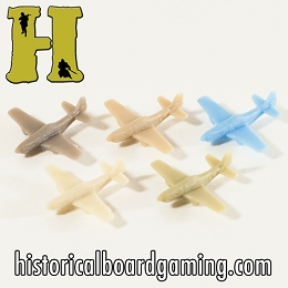 ''Battle Pieces'' - Allies - P-51 Mustang Fighter (x5)