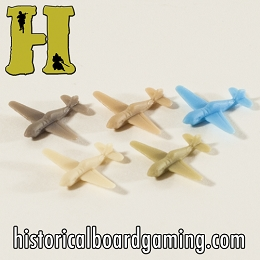 ''Battle Pieces'' - P-40 Warhawk Early War Fighter (x5)