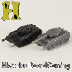 ''Battle Pieces'' - German Exp. - Tiger I Heavy Tank (x5)