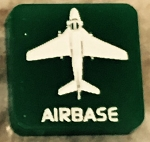 HBG Cold War Airbase (Small) Marker (Acrylic) x5
