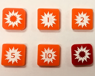 Square Installation Damage Marker (Acrylic) x5
