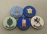 HBG French Armored Division Marker (Set of 5)