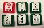 HBG Fuel Markers (Acrylic) x5