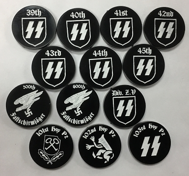 HBG SS Division Markers Set 5 (Acrylic)