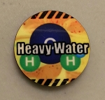 HBG Resources Marker Heavy Water (x5)