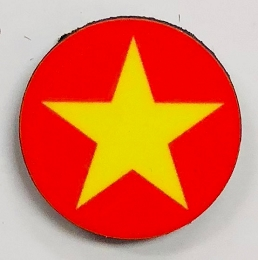 HBG Vietnam North (1955-P) Roundel (10/Set)