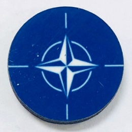 HBG NATO (1953-P) Flag (10/Set)