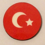 HBG Turkish Ottoman WW1&2 Roundel Markers (10/Set)