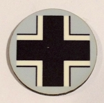HBG Germany Grey Roundel (10/Set)