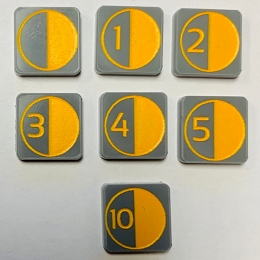 HBG Supply Marker (Acrylic) x5