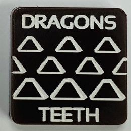 HBG Dragon's Teeth Marker (Acrylic) x5