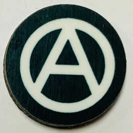 HBG Anarchy Symbol Roundel (10/Set)