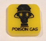 HBG Poison Gas Marker (Yellow) (Acrylic) x5