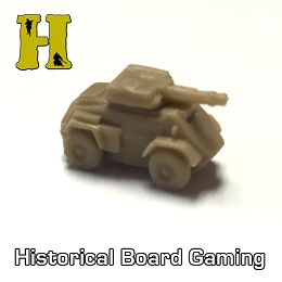 ''Battle Pieces'' - UK Supp. - Humber Scout Car (x5)