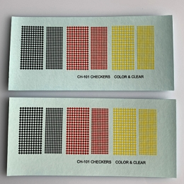 CH-101 Decal Sheet, Checkerboards