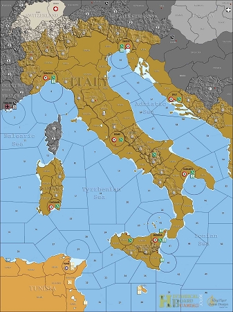 Map Of The World Italy.Custom Map Invasion Of Italy