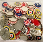 Bag Chips Roundels -Pacific 2001