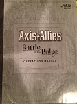 Rules Booklet - (Battle of the Bulge)