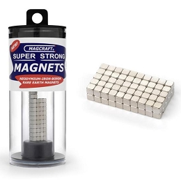Rare Earth Cube Magnets 1/8