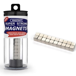 Rare Earth Cube Magnets 1/4