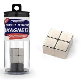 Rare Earth Cube Magnets 1/2