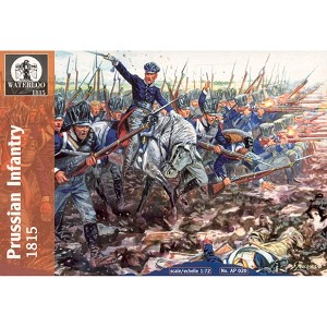 1/72 Napoleonic Prussian Infantry 1813 - 15 (WAT)