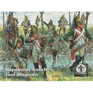 1/72 Napoleonic French Foot Dragoons 1808 - 15 (WAT)