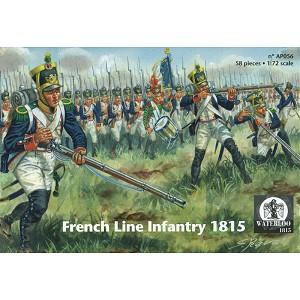 1/72 Napoleonic French Line Infantry 1815 (WAT)