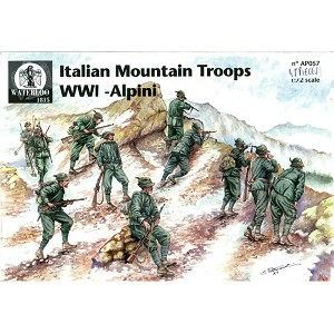 "1/72 WWI Italian Infantry Mountain ""Alpini"" (WAT)"