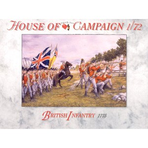 1/72 British Infantry (1775) Box (Call to Arms)