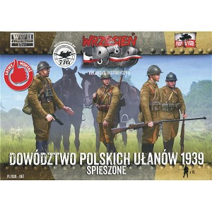 1/72 Polish Uhlan Command Dismounted (First to Fight)