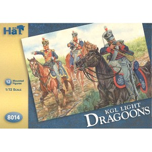 1/72 Kings German Legion Light Dragoons (12 Mtd) (HaT)