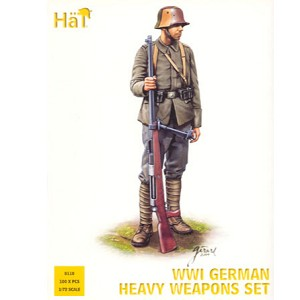 1/72 WWI German Heavy Weapons Box (HaT)