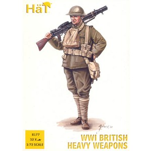 1/72 WWI British Hvy Weapons Box (HaT)