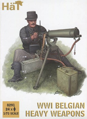 1/72 WWI Belgian Heavy Weapons Box (HaT)