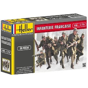 1/72 WWII French Infantry Box (Heller)